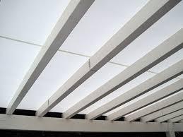 coperture tettoie in pvc copertura con telo in pvc