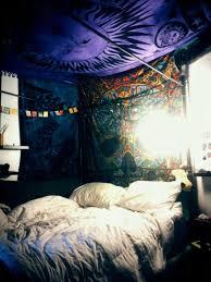 trippy bedroom tie dye blanket duvet cover psychedelic trippy boho bedding