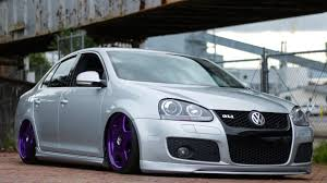 volkswagen gli slammed david lee u0027s bagged mkv gli youtube