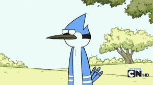 Funny Regular Show Memes - when my girlfriend is about to get upset girlfriends cartoon and
