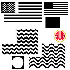 Create Your Own Flag Patriotic American Flag Monogram Frames Svg Dxf Eps Svgmonograms