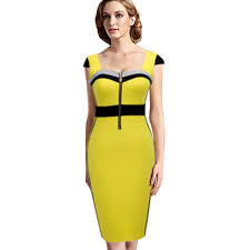 aliexpress com buy summer yellow and black colorblock casual