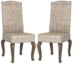 Suede Dining Room Chairs Sea8018b Set2 Dining Chairs Furniture By Safavieh