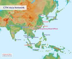 Shenzhen China Map Westminster Travel Ltd 西敏旅行社