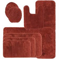 Jcpenney Bathroom Rug Sets Rust Colored Bath Rugs Contemporary Royal Velvet Signature Soft