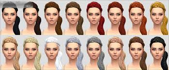 hair color to download for sims 3 mod the sims alexandra hair new mesh