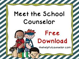 Counseling In Schools Inc Elementary Counselor Introduction Lesson Counselor