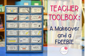 teacher toolbox a makeover and a freebie reading in room 11