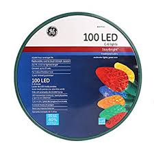 ge staybright 100 count constant multicolor c6 led