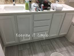 keeping it simple tips on how to paint dark veneer cabinets white