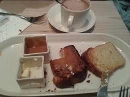 cuisine de bar breakfast brioche toast with caramel fleur de sel picture of