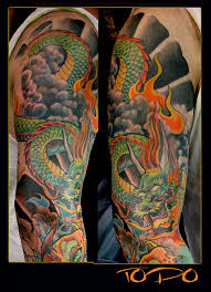 japanese dragon tattoos sleeves tattoos pinterest