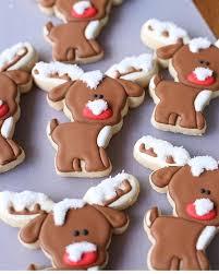 the 25 best christmas reindeer cookies ideas on pinterest