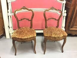 chambre style louis xv paire de chaises de chambre à coucher style louis xv rocaille 1900