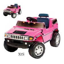 barbie toy cars ride on pink hummer car electric 6 v power motorized suv toys