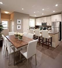 salon salle a manger cuisine idees de salle sejour cuisine moderne étonnant couleur de peinture
