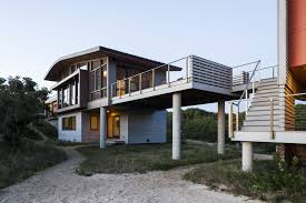 country house on the sand dunes of cape cod united states