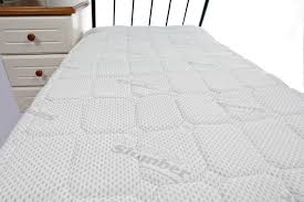 King Size Bed Topper Comfort Memory Foam Mattress Topper With Silver King Size From