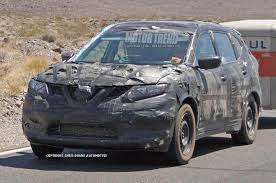 nissan leaf trailer hitch camouflaged 2014 nissan rogue prototype caught towing a trailer