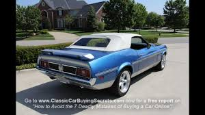 72 mustang convertible 1972 ford mustang mach 1 convertible car for sale