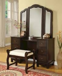 Vanity Table And Bench Set Vanity Table Set With Mirror Foter