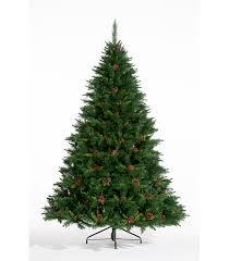 step two choosing a pre lit or unlit tree