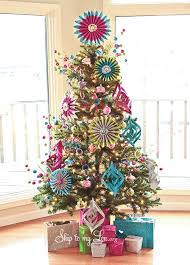 tree decorating ideas 2017 colorful tree