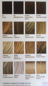 Black Hair Color Chart Hairdo Wigs By Jessica Simpson And Ken Paves