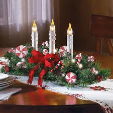 christmas candle centerpiece ideas decorations inspiring christmas table centerpiece with pines bow