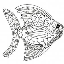 fish coloring pages coloring pages adults justcolor