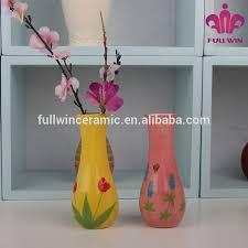 Design For Vase Painting Hand Painted Ceramic Flower Vase Stand Ceramic Decoration Flower