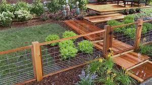 decorative wire fence panels home u0026 gardens geek