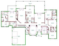 single house plans with basement baby nursery 5 bedroom house plans with basement floor plans for