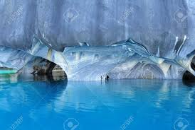 marble caves general carrera lake chile stock photo picture and