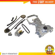 nissan altima 2005 timing chain replacement timing chain kit oil pump fits 02 06 nissan altima sentra 2 5l