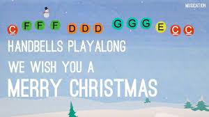 we wish you a merry handbells