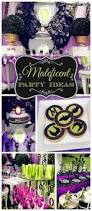 Halloween Themed First Birthday Party Best 25 Maleficent Birthday Party Ideas Only On Pinterest