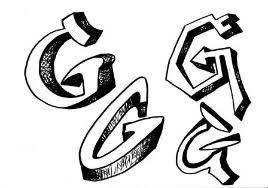 discover how to draw graffiti style letters with these free