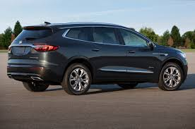 buick vehicles 2018 buick enclave avenir first look redesigned flagship