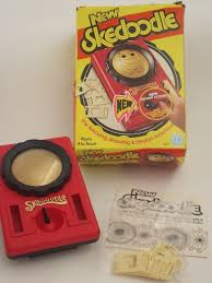 70s skedoodle drawing toy in box retro vintage hasbro etch a sketch