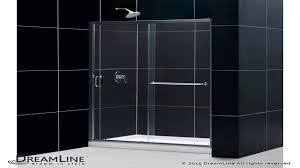 dreamline infinity z 56 60 in width frameless sliding shower door