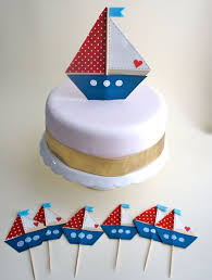 sailboat cake topper sailboat cake topper barco de vela decoración de pasteles y
