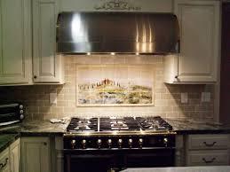 long black granite kitchen countertop with decorative white