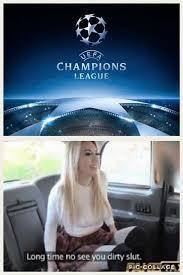 Chions League Memes - soccer memes liverpool fans with the chions league facebook