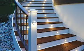 solar stair lights indoor outdoor step lights solar lights for deck steps 5 easy and