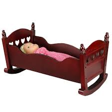 Rocking Bed Frame by 18 U2033 Doll Rocking Bed Free Shipping Continental Usa Discount