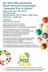 Paso A Paso by Jewelry For A Voice El Paso Children U0027s Foundation