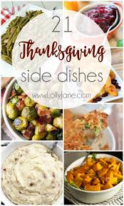 thanksgiving thanksgiving side dishes best healthy