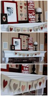 Ideas To Decorate For Valentine S Day by Best 25 Valentines Day Decorations Ideas On Pinterest Diy