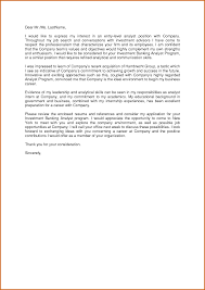sample cover letter for investment application consultant sample